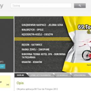 Aplikacja mobilna Tour de Pologne