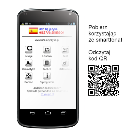 Hiszpański Android