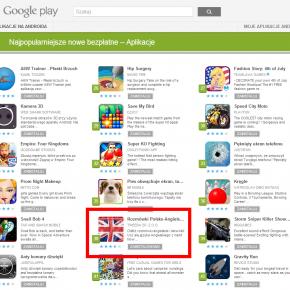 Nasze aplikacje w TOP Google Play!