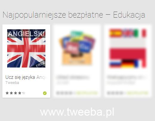 Aplikacja mobilna Angielski