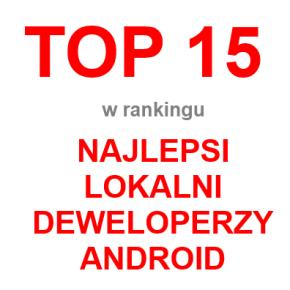 Tweeba w TOP 15 Deweloperów na Android