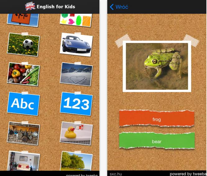 Angielski iOS