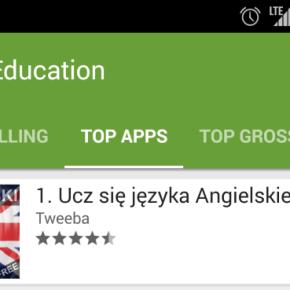 Znów w TOP aplikacji mobilnych [Angielski]