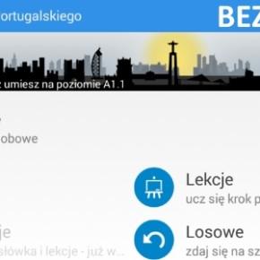 Nowa aplikacja do nauki języka portugalskiego na Android od Tweeba